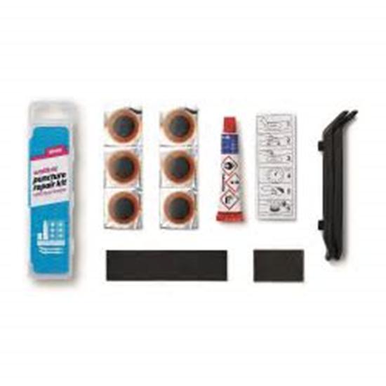 תמונה של ערכת תיקון פנצ'ר + כפות Weldtite Puncture repair kit